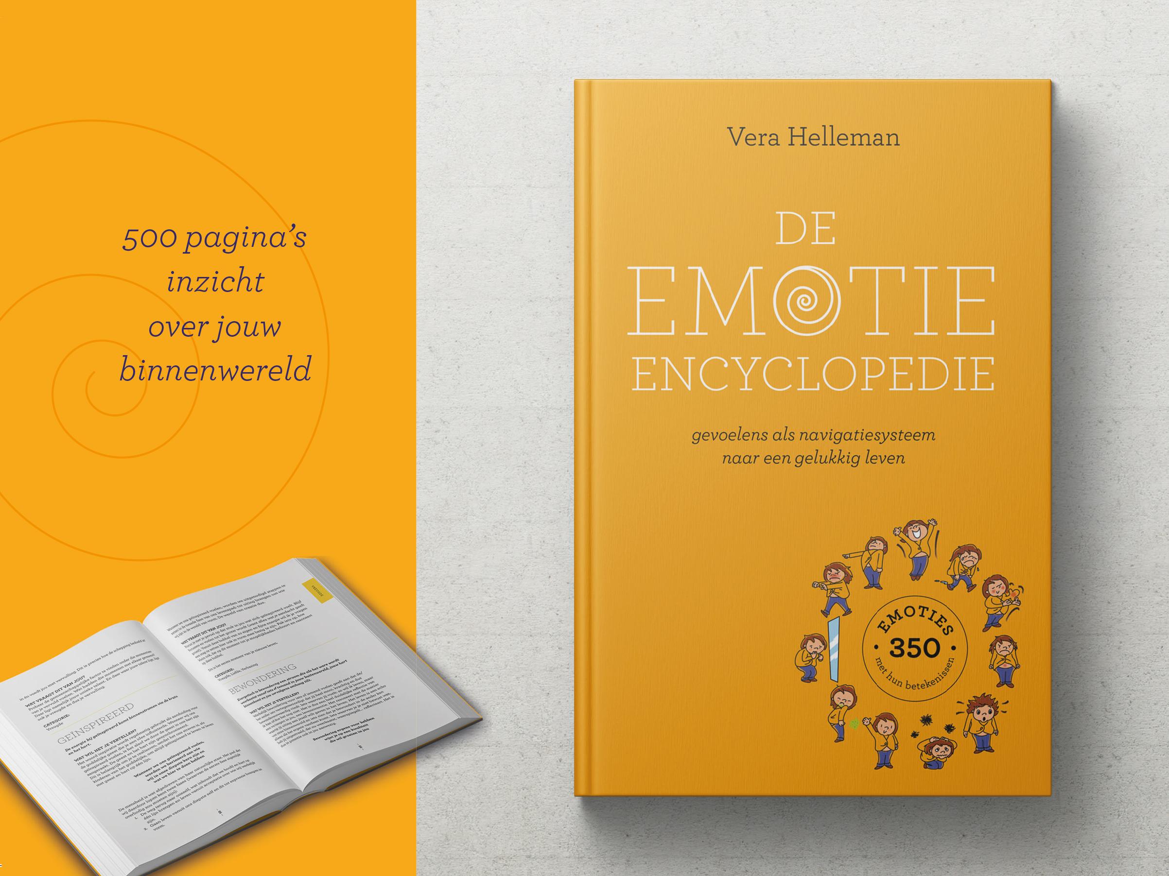 Emotie encyclopedie leaflet
